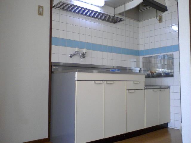 友和ハイツ 01010号室のキッチン