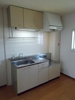 PRIVⅥ 02020号室のキッチン