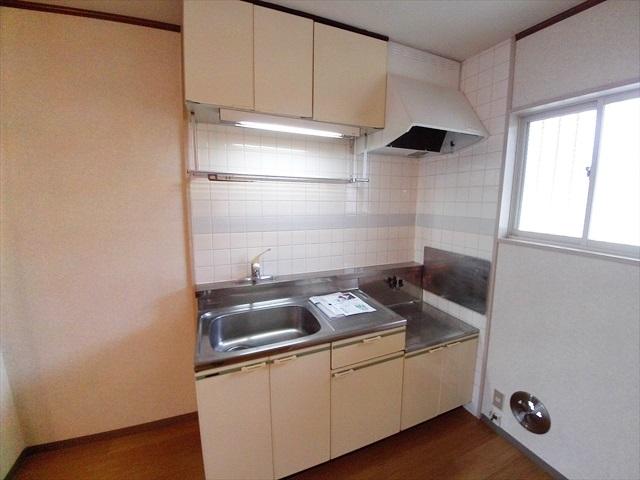 グリーンリバー泉台A 02020号室のキッチン