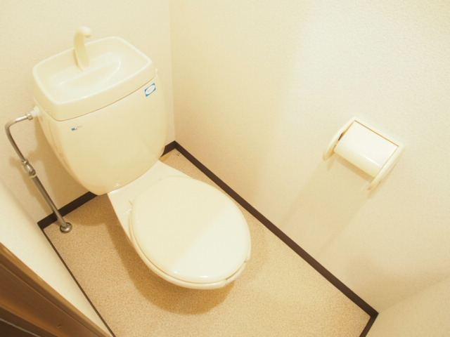 レジデンスピアⅡ 01010号室のトイレ