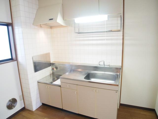 レジデンスピアⅡ 01010号室のキッチン