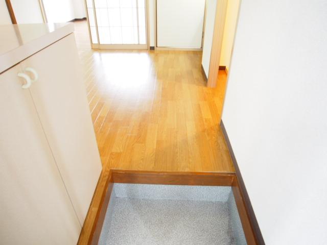 レジデンスピアⅡ 01010号室の玄関