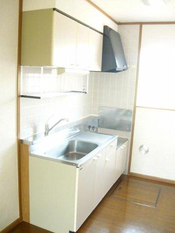 ア.ラ.モ-ドハウス 01010号室のキッチン