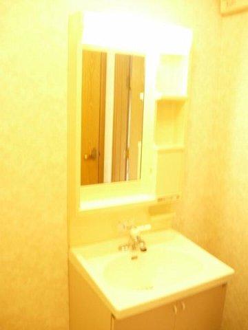 ア.ラ.モ-ドハウス 01010号室の洗面所