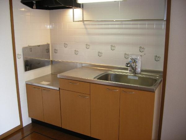 クルーセ・K 01010号室のキッチン