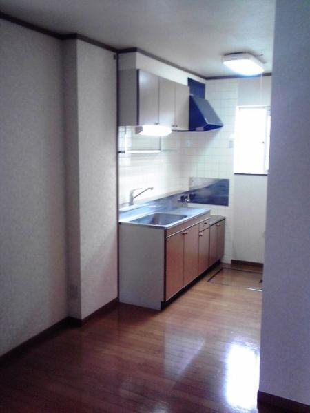 パ-クサイドC 01020号室のキッチン