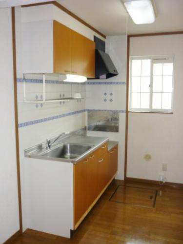 エスB 01020号室のキッチン