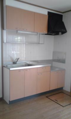 久保ハイツ 01010号室のキッチン