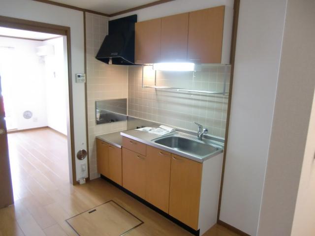 アルカンシェルコート 02020号室のキッチン