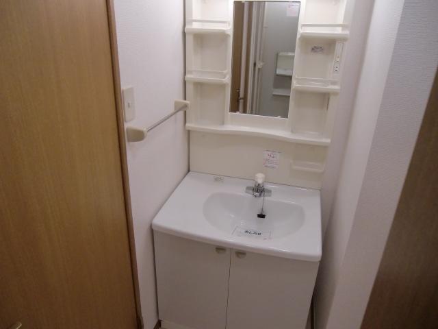 コーポ・アンソレイエ 02020号室の洗面所