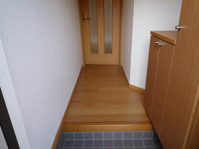 パークヒルズ・ヒロ 01010号室の玄関