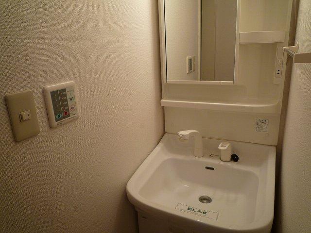 パークヒルズ・ヒロ 01010号室の洗面所