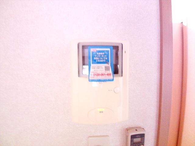 フォーチュンコート 01030号室のセキュリティ
