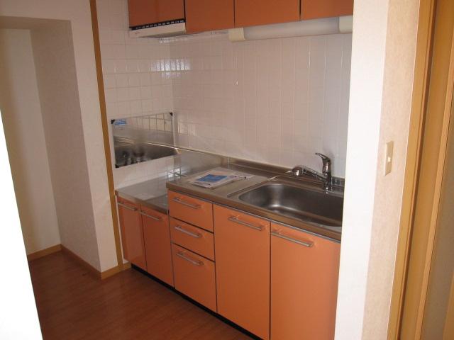 クロシェット・ボワ 03040号室のキッチン