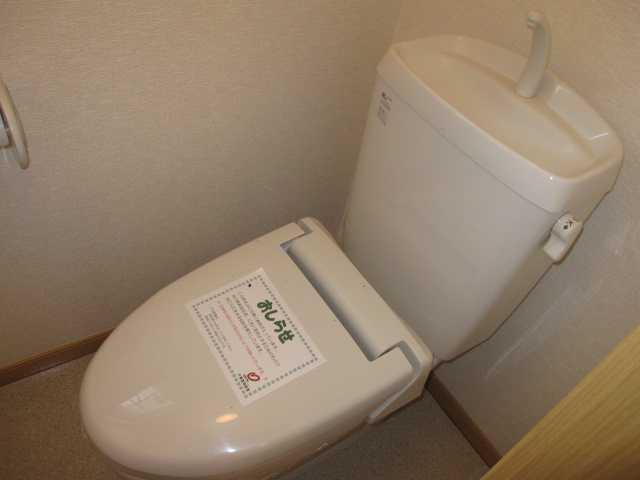 アンジュ・メゾン B 01010号室のトイレ