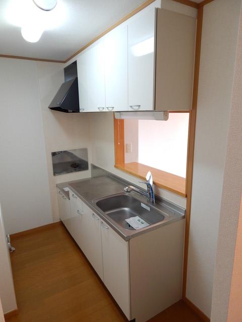 モーヴ・カミカ 02020号室のキッチン