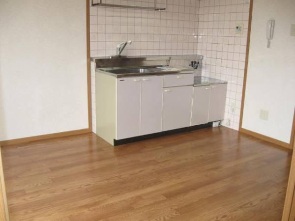 ビュ-ハイム・三橋 02020号室のキッチン