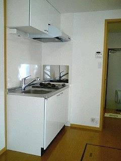 ハピネス北上尾 03030号室のキッチン