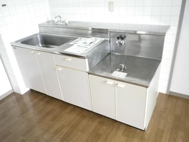 ビューテラス 01030号室のキッチン
