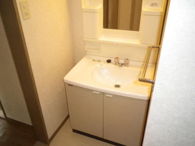 ビューテラス 01030号室の洗面所