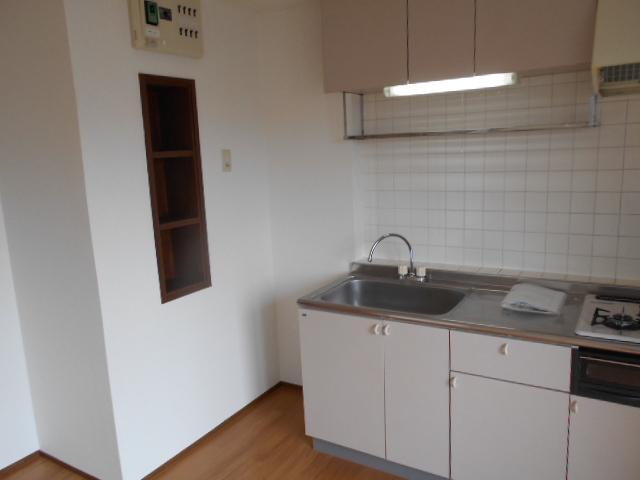 ビューテラス 03020号室のキッチン