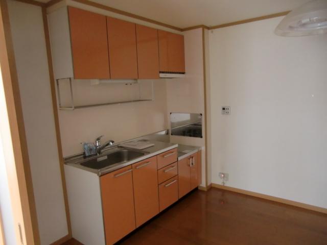 アルモニーA 02010号室のキッチン