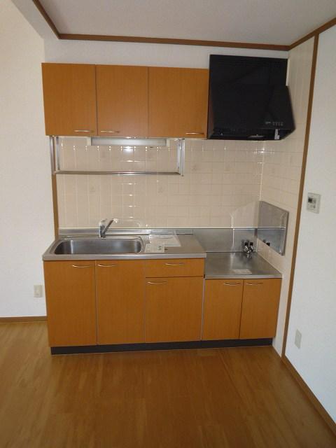 前原ドリームハウスⅢ 02010号室のキッチン