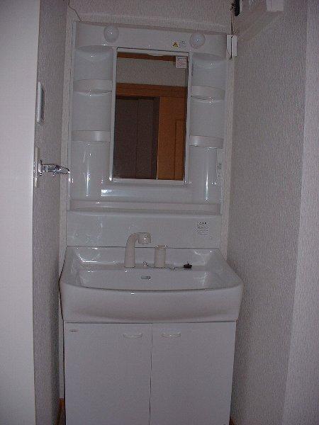 パインズデフィⅡ 02030号室の洗面所