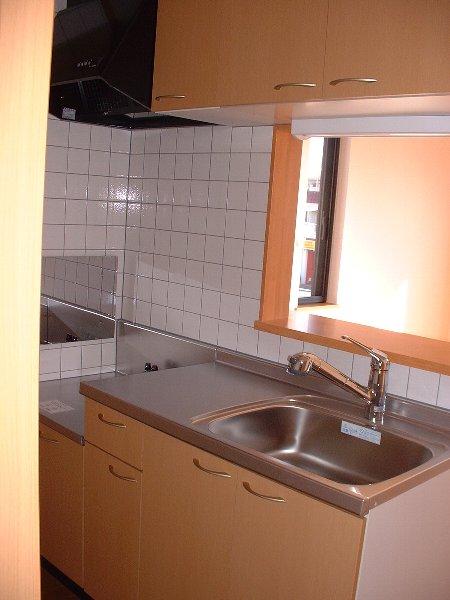 パインズデフィⅡ 02030号室のキッチン