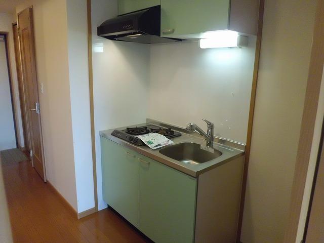 メゾン ソレイユ 01010号室のキッチン