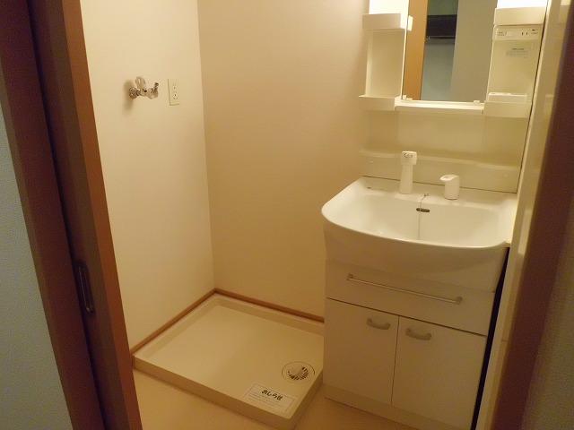 メゾン ソレイユ 01010号室の洗面所
