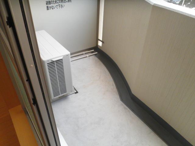 メゾン ソレイユ 03020号室のバルコニー