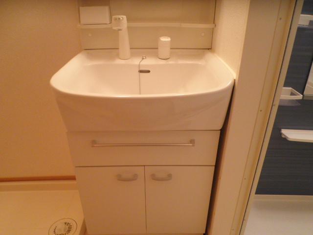 メゾン ソレイユ 03020号室の洗面所