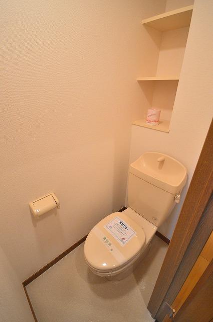 ジュネスハイム奥田A 01030号室のトイレ