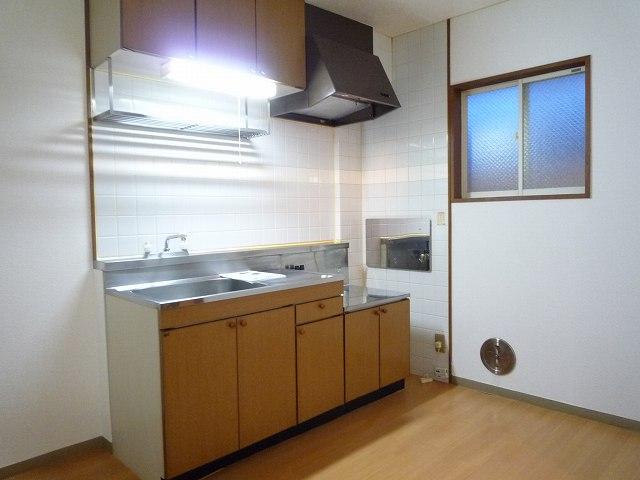 エルハイム 02020号室のキッチン