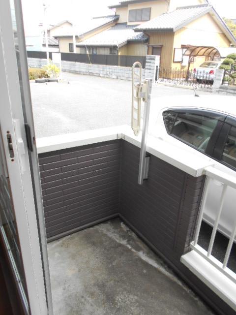 カーサ・カルマーレ 01010号室のバルコニー