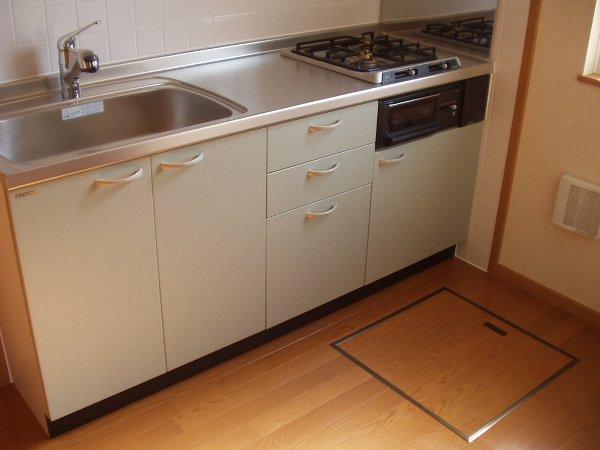 フォーリスト・ヴァリーA棟 02020号室のキッチン