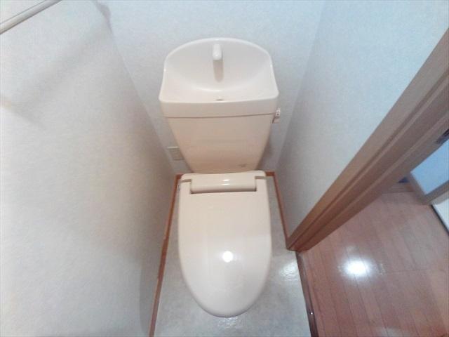 オーブ柏座 01010号室のトイレ