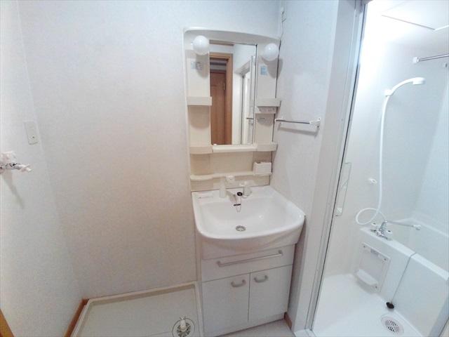 オーブ柏座 01010号室の洗面所