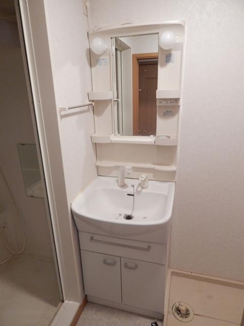 オーブ柏座 01030号室の洗面所