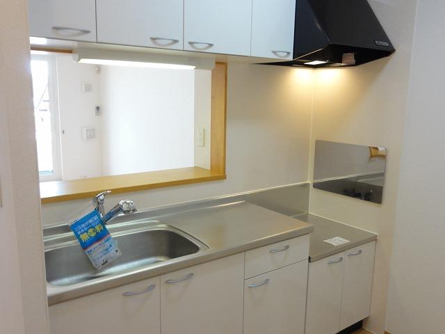 メゾン・ド・フレーシュⅡ 02030号室のキッチン