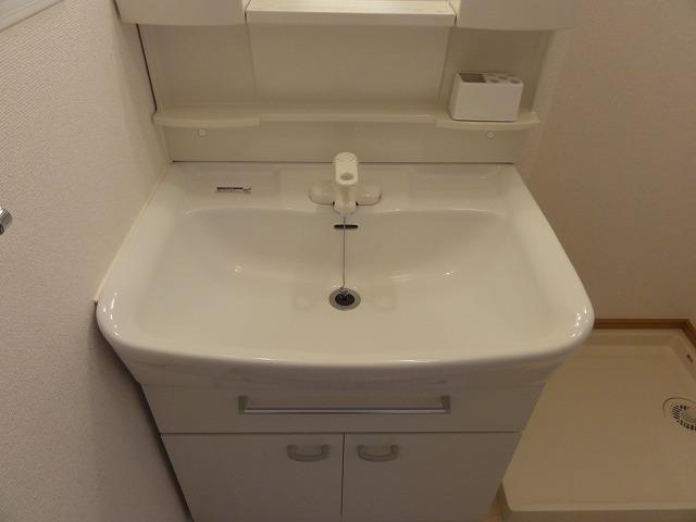 メゾン・ド・フレーシュⅡ 02030号室の洗面所