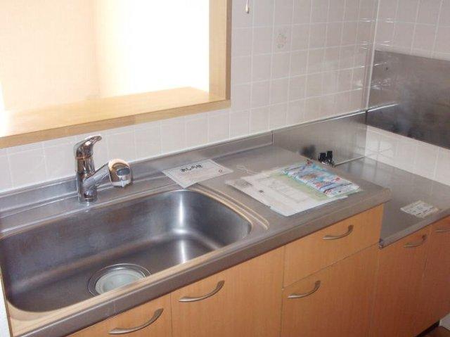 ウエストコートA 01020号室のキッチン