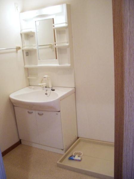 ウエストコートA 01020号室の洗面所