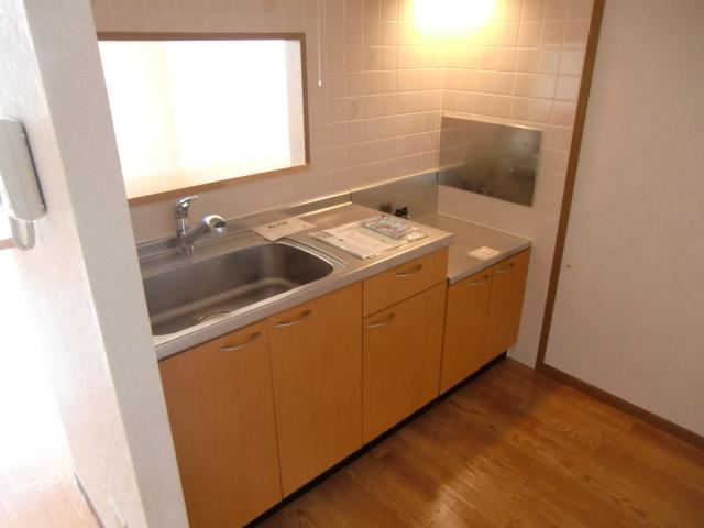 ウエストコートA 02020号室のキッチン