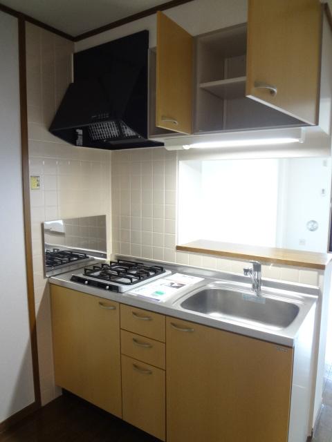 ツイン・ミラージュ 02030号室のキッチン