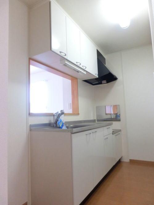 リーヴ天神 C 02010号室のキッチン