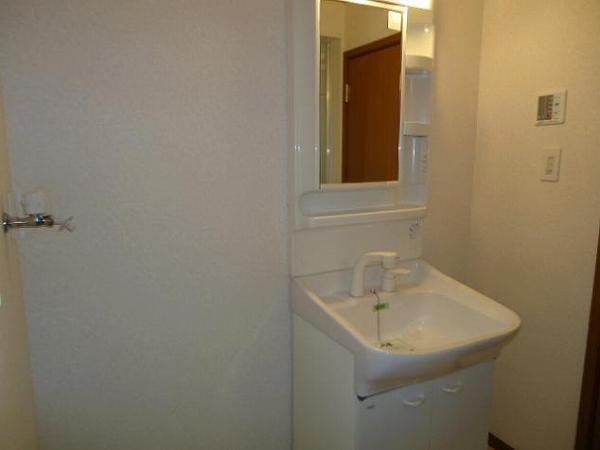 パイングローヴヒルズB 02020号室の洗面所