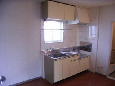 ビューテラスⅡ 02040号室のキッチン