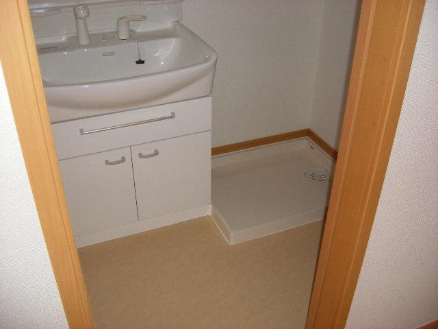 ドミール・カルム 01010号室の洗面所
